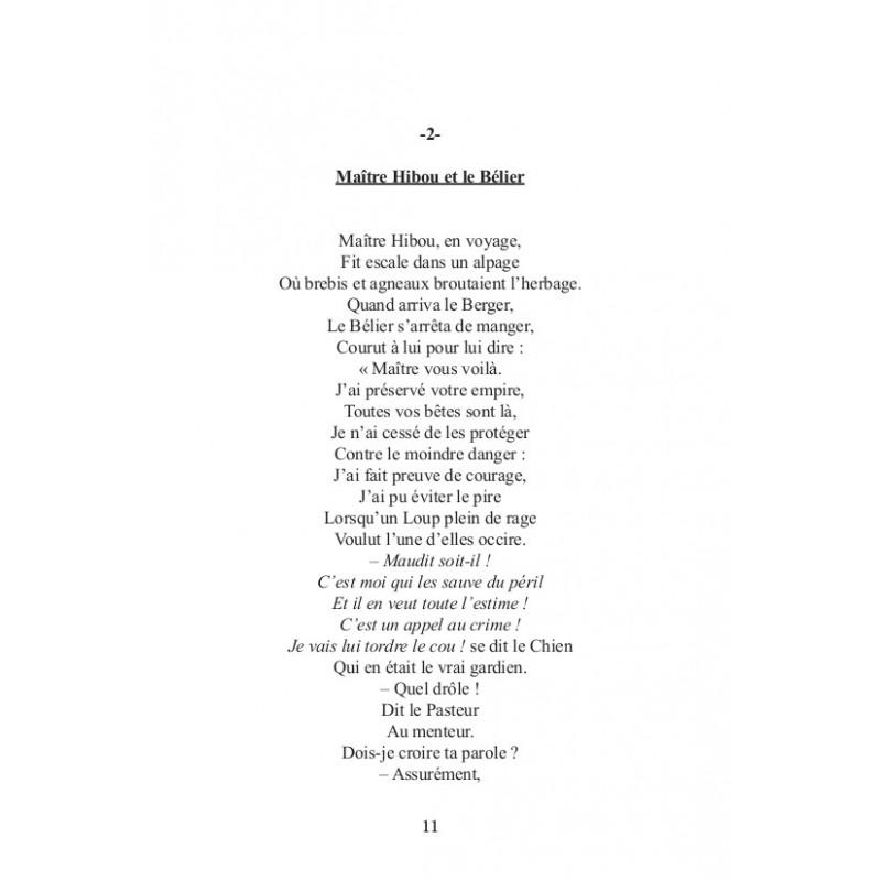 les fables de matre hibou - Maitre Hibou